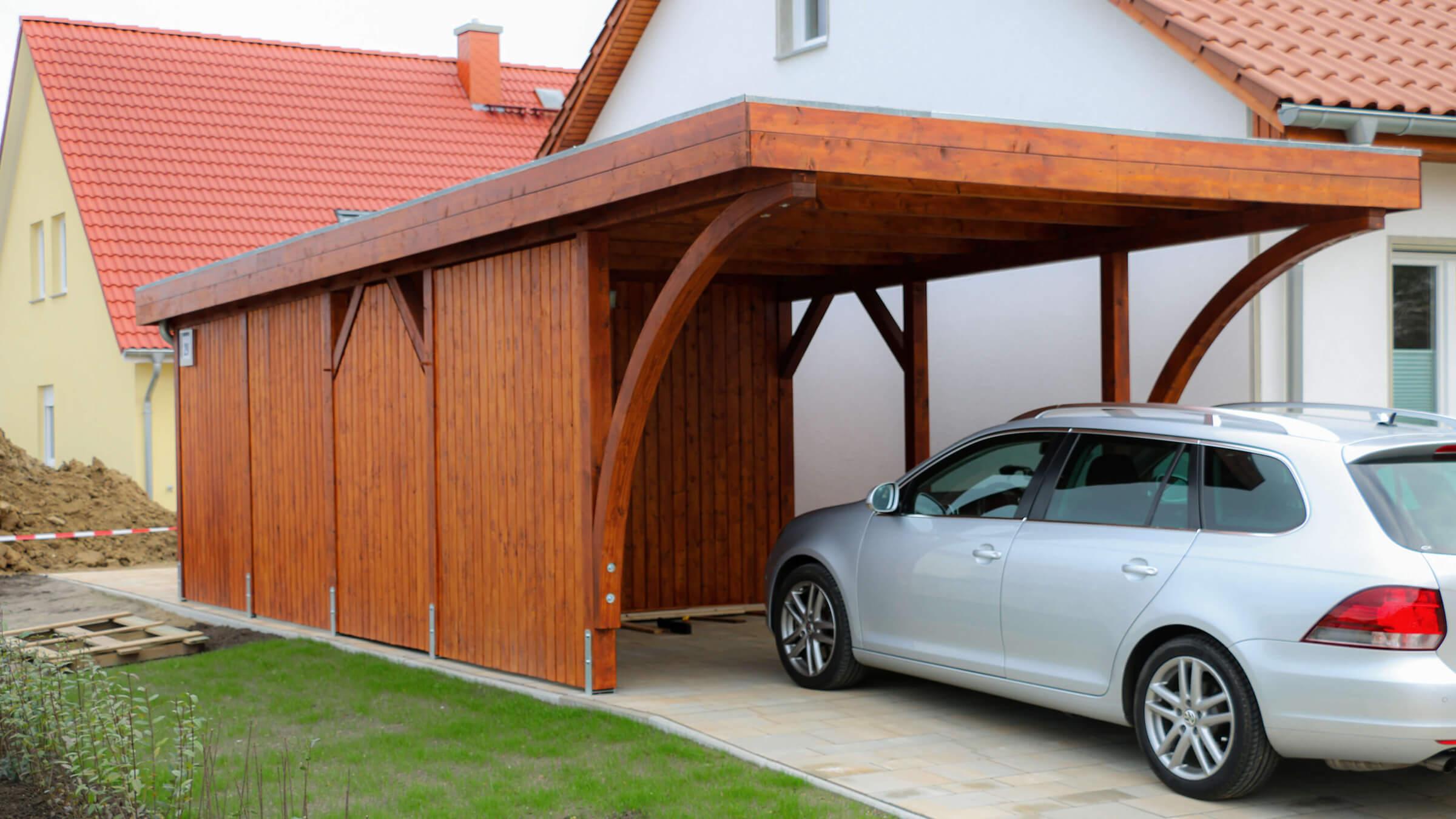 Carport De Holz Carports Nach Mass Terrassendacher
